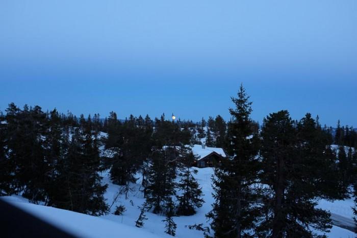 Utsikten fra Digeråsen.