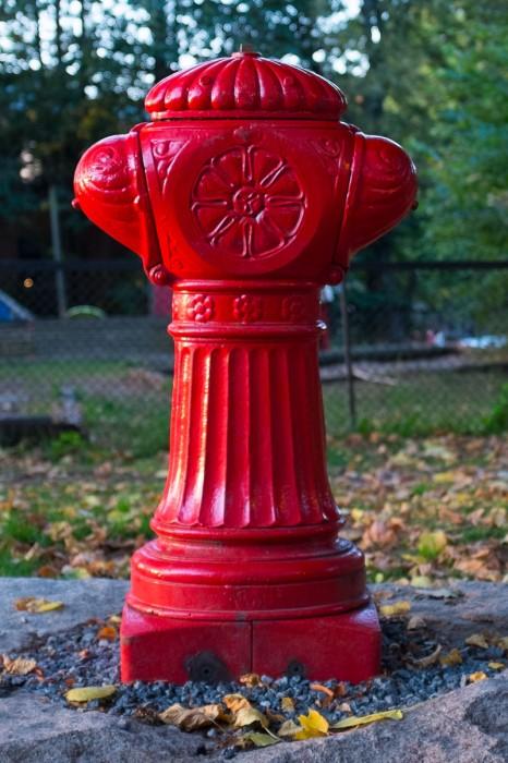 Helt enkelt en brannhydrant