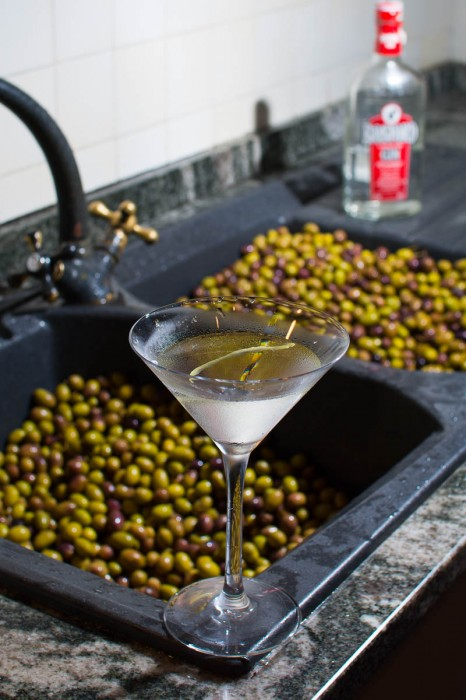 Very dry Martini